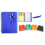 Blocos, cadernos e agendas